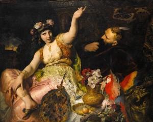 FerdinandKellerScheherazade-and-sultanshahryar1880